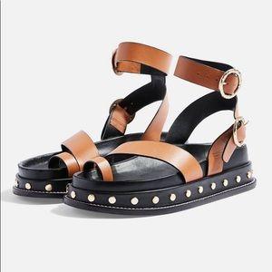 Top shop Fawn Platform Sandals studded platform